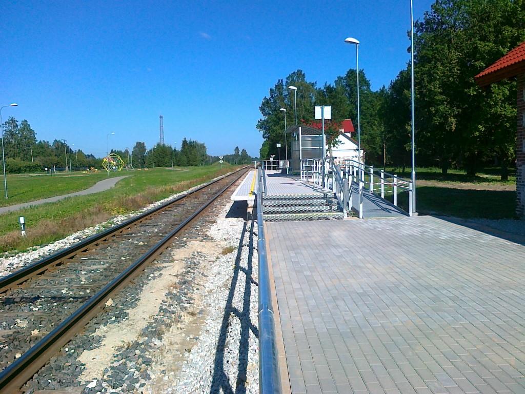Käru jaama ooteplatvorm